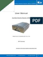 User Manual -Dual Band Selectiv Repeater _PODRP27 New
