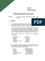 plan de evacuación callao 2005
