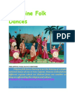 Philippine Folk Dances- History