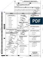 Sample Ballots for 2014 Republican Party Primary Elections in Cameron County, TX