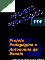 Projeto pedagogico