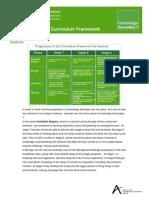 Curriculum Framework Science