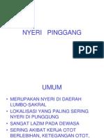 Kuliah Nyeri Pinggang