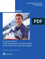 Uncertain Futures? Youth Labor Market US / New England