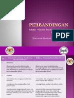 Perbandingan Sukatan Pelajaran Dan Kurikulum Standard PM
