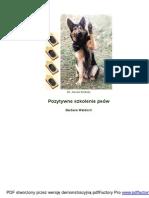 01 Pozytywne szkolenie psów - Barbara Waldoch