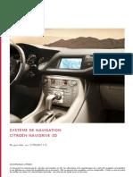 Systeme de Navigation CITROEN NaviDrive 3D