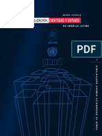 Castells Manuel - Globalizacion Identidad Y Estado en America Latina