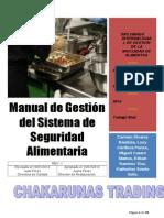Manual de Calidad Iso 22000