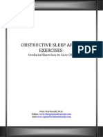 Free Report - Orofacial Exercises to Cure Sleep Apnea