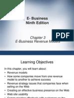 (E Commerce) Chapter 3
