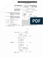 (2013) US20130284586 Dividing Wall Column for Preparing High-purity 2 Ethylhexyl-Acrylate