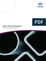 Hybox® 355 Structural Hollow Sections Technical Guide UK 12-2010