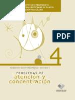 21781379 Guia de Apoyo Tecnico Pedagogico Problemas de Atencion y Concentracion