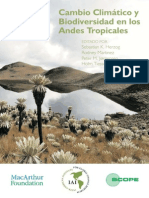 Cambio Climatico y Diversidad en Los Andes, Insectos, Aves , Mamiferos