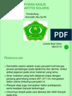 Dermatitis Solaris lapkas
