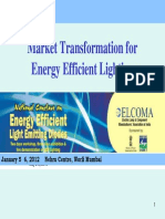 BEE Market Transformation for EE Lighting