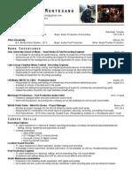 Montesano-Resume January 2014