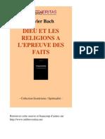 25431-OLIVIER BACH-Dieu Et Les Religions a Lepreuve Des Faits-[InLibroVeritas.net]