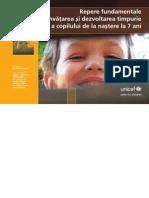 UNICEF Repere Educatie Timpurie Ionescu Boca Ulrich