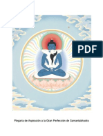 Plegaria de Aspiracion a La Gran Perfeccion de Kuntuzanpo
