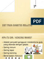 Diet Pada Diabetes Melitus