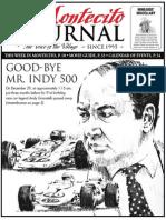 Good-Bye Mr.Indy 500
