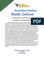 Final Seminar Flyer R. Jackson