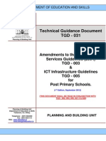 TGD 031 Amendments to the M E D 005 for Post Primary Schools 1