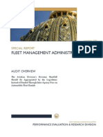 Fleet Management Administration Fee