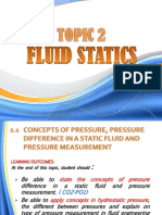 Topic 2_ecw 211-Fluid Statics