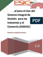 Manual Para Uso Del SIGESIC
