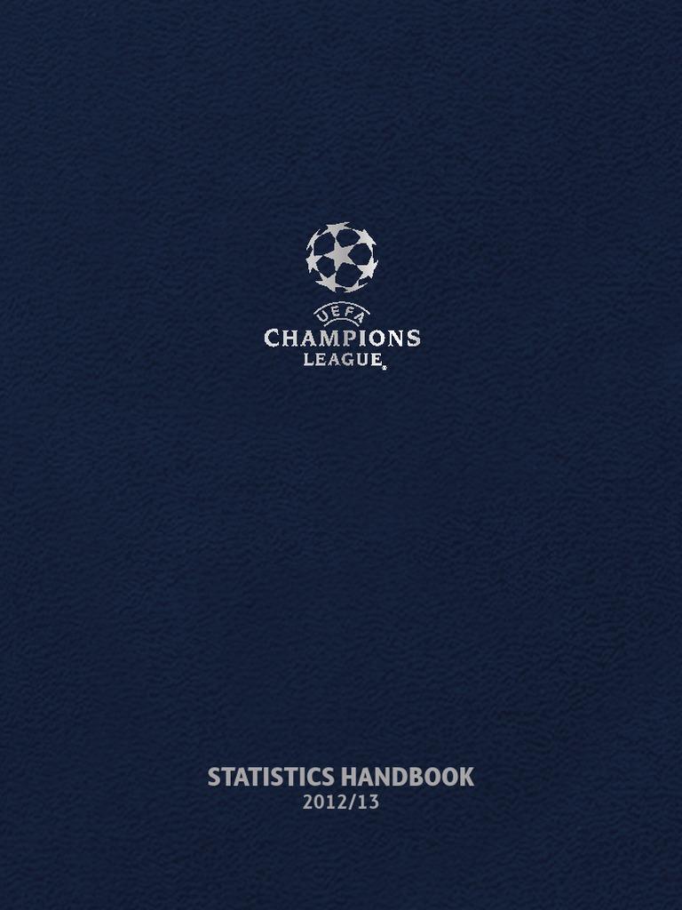 15e582661 Uefa Champions League Statistic Book
