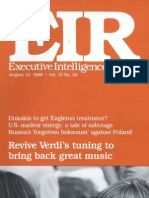 Revive Verdi's tuning to bring back great music (EIR Feature Article)