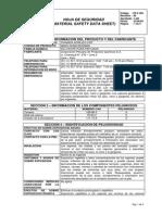 MSDS Thinner Acrilico CPPQ 0052 (Rev. 22-06-2009)