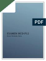 Examen HCD-P12