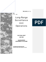 FM 3-55.93 (FM 7-93) - Long-Range Surveillance Unit Operations