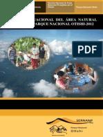 Parque Nacional OTISHI: Informe Situacional 2012