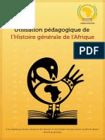 utilisation pédagogique de l'histoire d'afrique