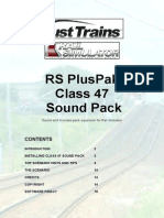 Armstrong PH Class 47 Sounds Manual