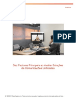 10 Factores Principais Comunicacoes Unificadas