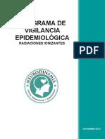 Programa de Vigilancia Epidemiologiac Radiaciones Ionizantes