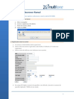 Registrar e Subscrever Ramal