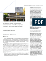 Brise-soleil, recurso arquitectónico de control solar. Evolución y propuesta de diseño optimizado para Camagüey