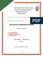 IMPLEMENTACION DE LAS H.D EN LA JORNADA DE PRÁCTICA