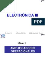 Electronica III Clase 01