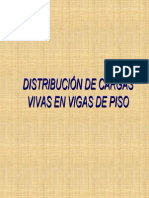 Distribucion Cargas Vivas Piso Lrfd