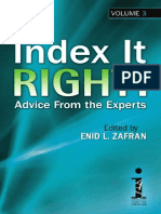 Index It Right!