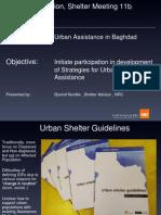 27 - Urban Assistance in Baghdad - Nrc - o Nordlie