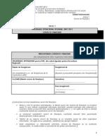 Anexa 1 - Cerere de Finantare